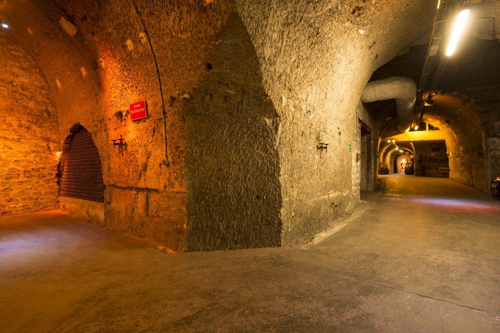 Galerie souterraine Caves des Montquartiers