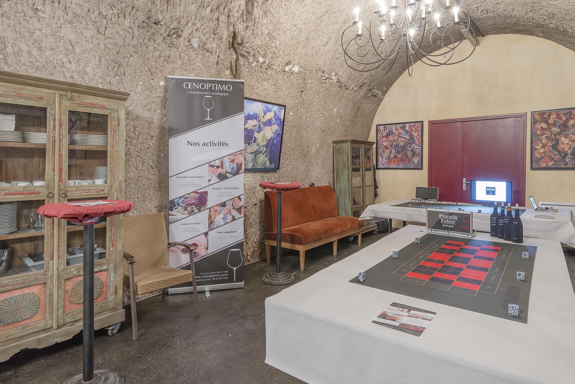 Le casino des vins Oenoptimo