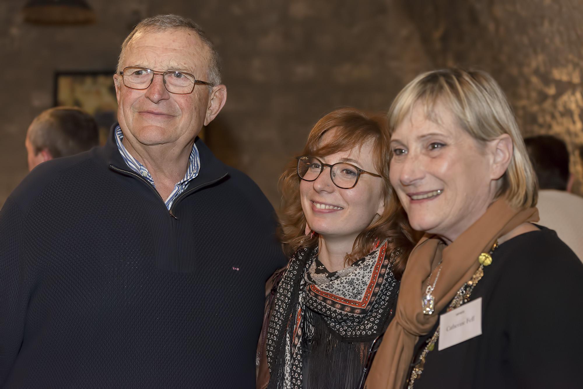 Gérard Trouvé, Gaëlle Dulac et Catherine Feff